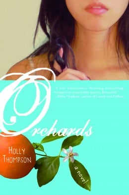 Holly Thompson ORCHARDS book cover
