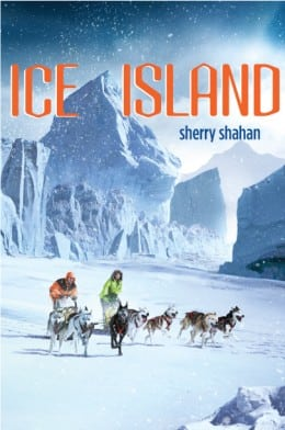 Sherry Shahan ICE ISLAND BOOK COVER