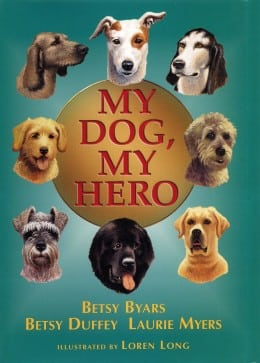DuffeyMyers MYDOGMYHERO BOOK COVER