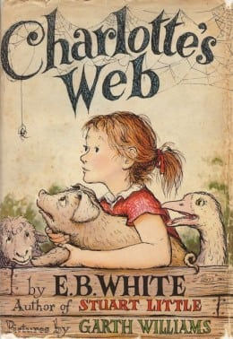 Ginger Wadsworth CHARLOTTE'S WEB COVER