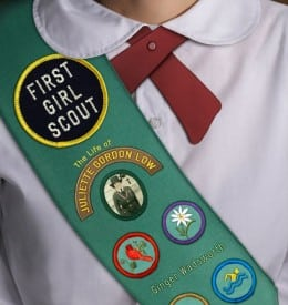 Ginger Wadsworth FIRST GIRL SCOUT COVER