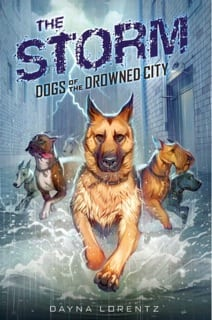 Dayna Lorentz DOGS OF THE DROWNED CITY #1 Book Cover-01