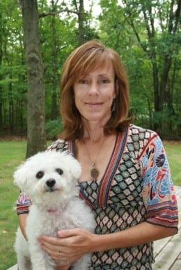Leslie Helakoski, Dog & Author Photo