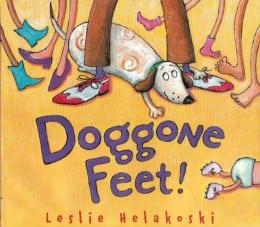 Leslie Helakoski, Doggone Feet! book cover