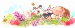 SDSD flower dog