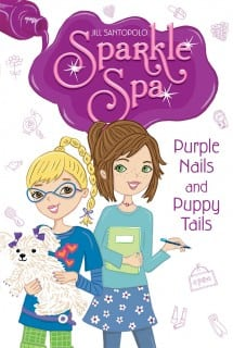 Jill Santopolo Purple Nails And Puppy Tails Book Cover