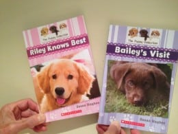 Susan Hughes Bailey's Visit and Riley Knows Best book covers