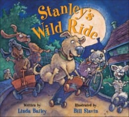 Linda Bailey STANLEY'S WILD RIDE COVERjpg