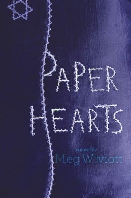Meg Wiviott PAPER HEARTS book cover