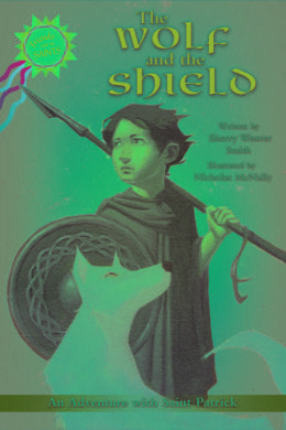 Sherry Weaver Smith The Wolf and the Shield BOOK COVER